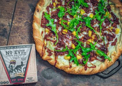 The Triple P – Pulled Pork Pizza