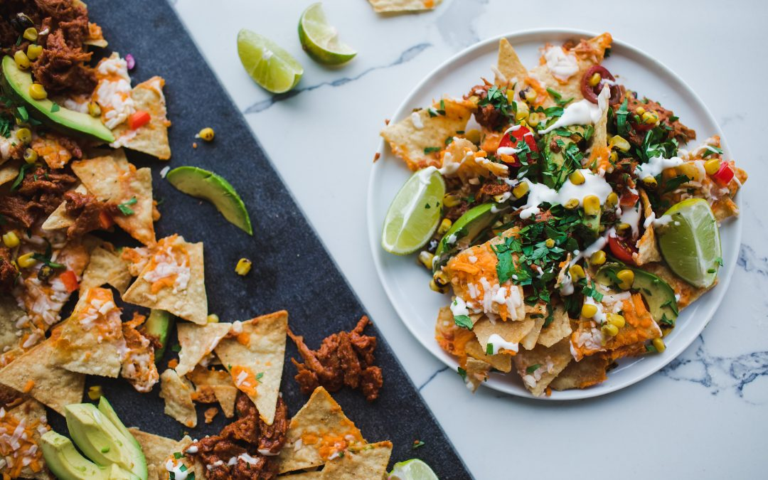 Kicked Up Pulled 'Pork' Nachos