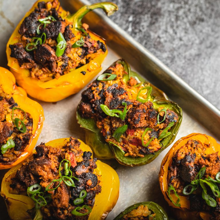 Chorizo Stuffed Peppers