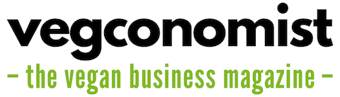 Vegconomist logo: the vegan business magazine