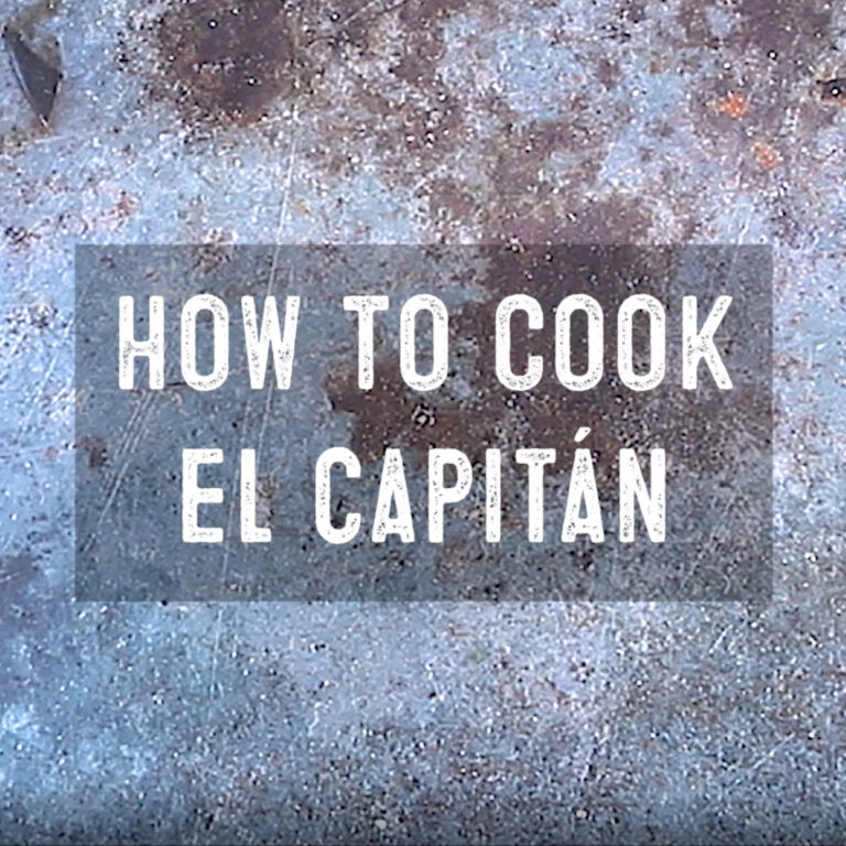 How to Cook El Capitan